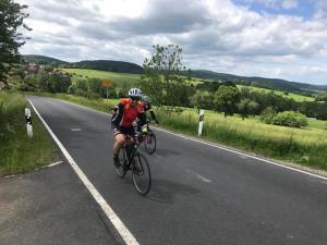 Rennradfahren in der Rhön + Fulda